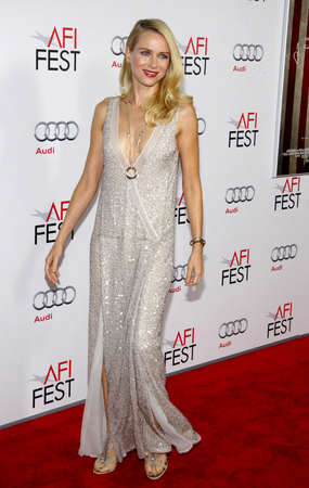 watts: Naomi Watts at the AFI FEST 2011 Opening Night Gala World Premiere Of J. Edgar held at the Graumans Chinese Theatre in Hollywood on November 3, 2011. Editorial