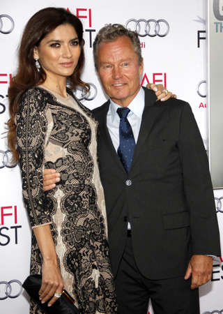 gambler: John Savage and Blanca Blanco at the AFI FEST 2014 Gala Premiere of The Gambler held at the Dolby Theatre in Los Angeles, USA on November 11, 2014. Editorial