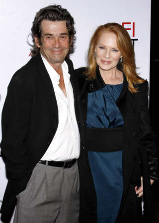 alan: Marg Helgenberger and Alan Rosenberg at the AFI FEST 2009 Screening of The Road held at the Graumans Chinese Theater in Hollywood, USA on November 4, 2009.