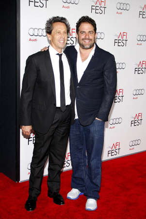 grazer: Brian Grazer and Brett Ratner at the AFI FEST 2011 Opening Night Gala World Premiere Of J. Edgar held at the Graumans Chinese Theatre in Hollywood on November 3, 2011. Editorial