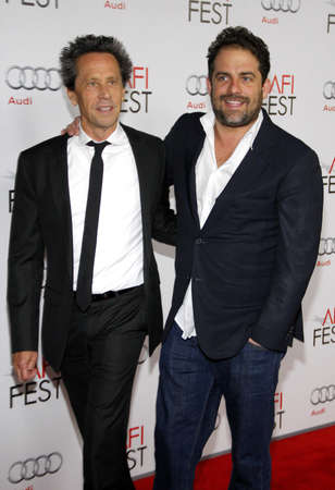 grazer: Brian Grazer and Brett Ratner at the AFI FEST 2011 Opening Night Gala World Premiere Of 'J. Edgar' held at the Grauman's Chinese Theatre in Hollywood on November 3, 2011. Credit: Lumeimages.com