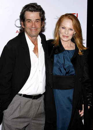 Marg Helgenberger and Alan Rosenberg at the AFI FEST 2009 Screening of The Road held at the Graumans Chinese Theater in Hollywood, USA on November 4, 2009.