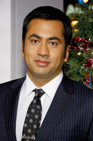 Kal Penn at the Los Angeles premiere of A Very Harold & Kumar 3D Christmas held at the Graumans Chinese Theater in Hollywood on November 2, 2011.