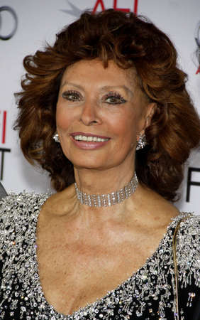 dolby: Sophia Loren at the AFI FEST 2014 Special Tribute to Sophia Loren held at the Dolby Theatre held at the Dolby Theatre in Los Angeles on November 12, 2014 in Los Angeles, California.