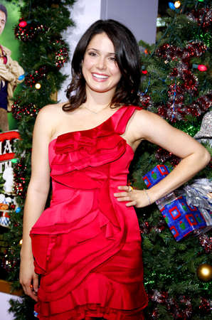 Ali Cobrin at the Los Angeles premiere of 'A Very Harold & Kumar 3D Christmas' held at the Grauman's Chinese Theater in Hollywood on November 2, 2011. Editöryel