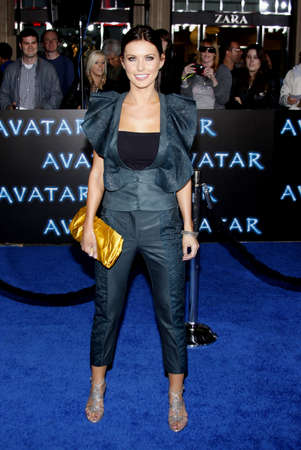 premiere: Audrina Patridge at the Los Angeles premiere of 'Avatar' held at the Grauman's Chinese Theater in Hollywood on December 16, 2009.