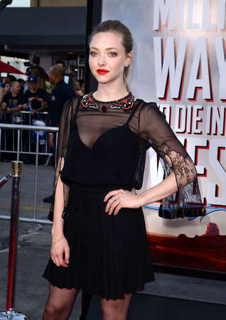 amanda: Amanda Seyfried at the Los Angeles premiere of A Million Ways To Die In The West held at the Regency Village Theatre in Los Angeles, United States, 150514. Editorial