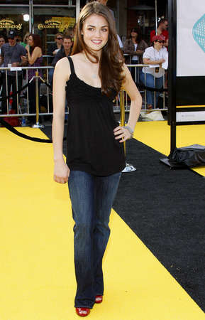 hale: Lucy Hale at the Los Angeles premiere of Bee held at the Mann Bruin Theater in Westwood on October 28, 2007.
