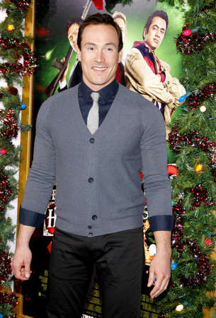 hollywood christmas: Chris Klein at the Los Angeles premiere of A Very Harold & Kumar 3D Christmas held at the Graumans Chinese Theater in Hollywood on November 2, 2011.