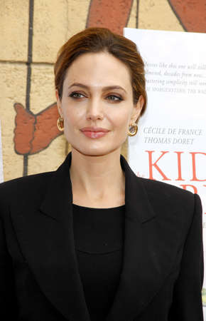 angelina jolie: Angelina Jolie at the American Cinematheques 69th Annual Golden Globe Awards Foreign-Language Nominee Event held at the Egyptian Theater on January 15, 2012.