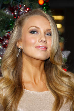 hollywood christmas: Melissa Ordway at the Los Angeles premiere of A Very Harold & Kumar 3D Christmas held at the Graumans Chinese Theater in Hollywood on November 2, 2011. Editorial