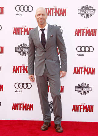 Chris Daughtry at the World premiere of Marvels Ant-Man held at the Dolby Theatre in Hollywood, USA on June 29, 2015.