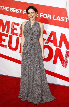 Jenny Mollen at the Los Angeles premiere of American Reunion held at the Graumans Chinese Theater in Hollywood on March 19, 2012. Editorial