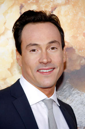 Chris Klein at the Los Angeles premiere of American Reunion held at the Graumans Chinese Theater in Hollywood on March 19, 2012.