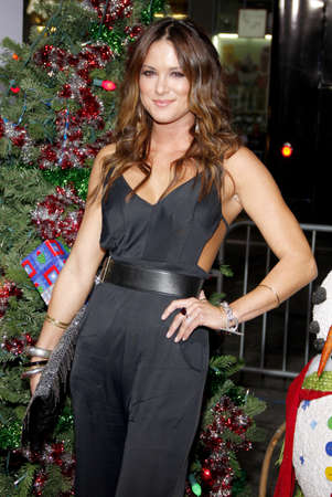 Danneel Harris at the Los Angeles premiere of 'A Very Harold & Kumar 3D Christmas' held at the Grauman's Chinese Theater in Hollywood on November 2, 2011. Editöryel