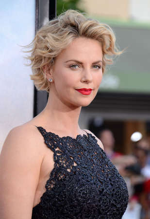 Charlize Theron at the Los Angeles premiere of A Million Ways To Die In The West held at the Regency Village Theatre in Los Angeles, United States, 150514. Editorial