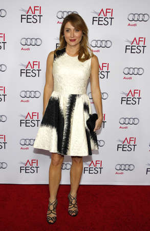 dolby: Sasha Alexander at the AFI FEST 2014 Special Tribute To Sophia Loren held at the Dolby Theatre held at the Dolby Theatre in Los Angeles on November 12, 2014 in Los Angeles, California.
