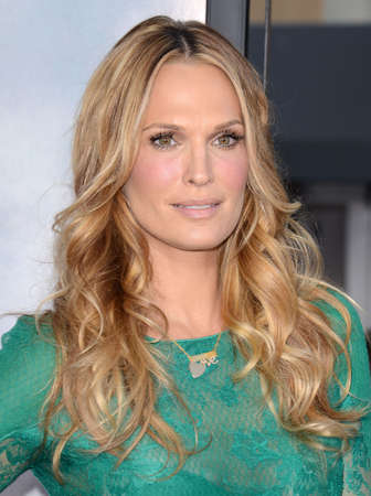 """Molly Sims at the Los Angeles premiere of """"A Million Ways To Die In The West"""" held at the Regency Village Theatre in Los Angeles, United States, 150514. Editorial"""