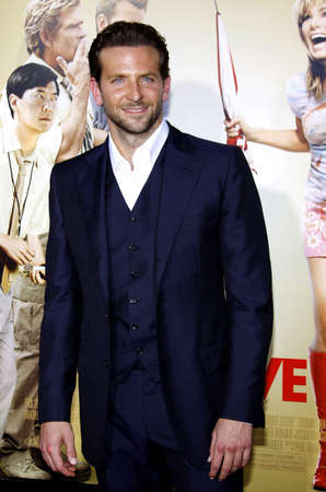 cooper: Bradley Cooper at the Los Angeles premiere of All About Steve held at the Graumans Chinese Theatre in Los Angeles, USA on August 26, 2009. Editorial