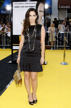 mann: Ana de la Reguera at the Los Angeles premiere of Bee held at the Mann Bruin Theater in Westwood on October 28, 2007. Editorial
