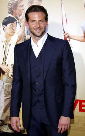 cooper: Bradley Cooper at the Los Angeles premiere of 'All About Steve' held at the Grauman's Chinese Theatre in Los Angeles on August 26, 2009. Editorial