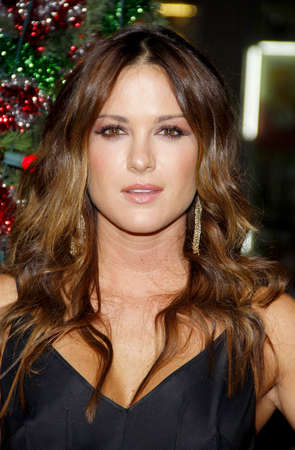 hollywood christmas: Danneel Harris at the Los Angeles premiere of A Very Harold & Kumar 3D Christmas held at the Graumans Chinese Theater in Hollywood on November 2, 2011.