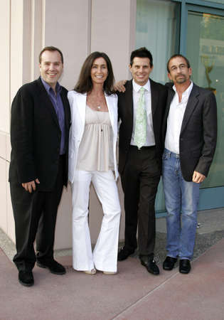 hayman: Marco Pennette, Teri Weinberg, Silvio Horta and James Hayman at the Academy of Television Arts & Sciences Presentation An Evening with Ugly Betty held at the Leonard H. Goldenson Theatre in North Hollywood, USA on April 30, 2007.