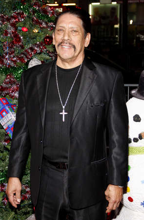 hollywood christmas: Danny Trejo at the Los Angeles premiere of A Very Harold & Kumar 3D Christmas held at the Graumans Chinese Theater in Hollywood on November 2, 2011.