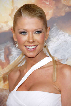 Tara Reid at the Los Angeles premiere of American Reunion held at the Graumans Chinese Theater in Hollywood on March 19, 2012.