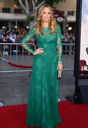 Molly Sims at the Los Angeles premiere of A Million Ways To Die In The West held at the Regency Village Theatre in Los Angeles, United States, 150514. Editorial