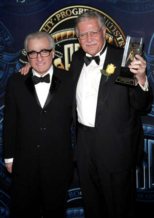 premieres: Martin Scorsese and Michael Ballhaus at the American Society of Cinematographers 21st Annual Outstanding Achievement Awards held at the Hyatt Regency Century Plaza Hotel in Century City on February 18, 2007.