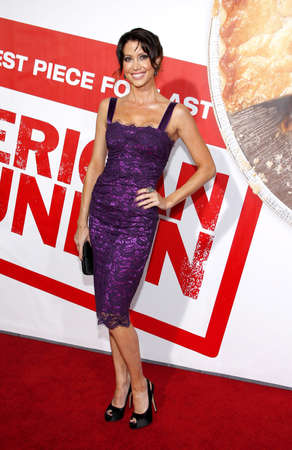 premiere: Shannon Elizabeth at the Los Angeles premiere of American Reunion held at the Graumans Chinese Theater in Hollywood on March 19, 2012.