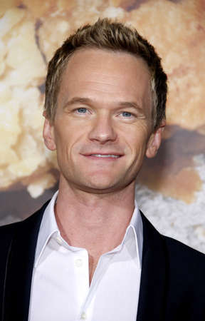 Neil Patrick Harris at the Los Angeles premiere of American Reunion held at the Graumans Chinese Theater in Hollywood on March 19, 2012. Editorial