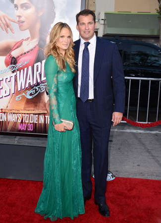 molly: Molly Sims and Scott Stuber at the Los Angeles premiere of A Million Ways To Die In The West held at the Regency Village Theatre in Los Angeles, United States, 150514.