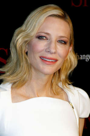 west hollywood: Cate Blanchett at the SK-II ChangeDestiny Forum held at the Andaz Hotel in West Hollywood, USA on February 26, 2016.