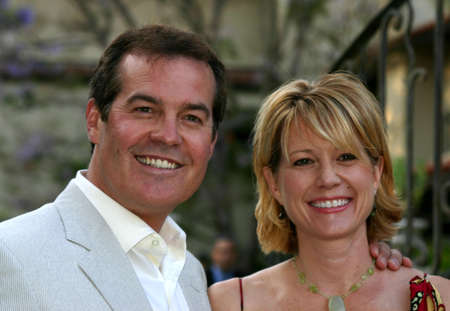 marianne: Bob Goen and Marianne Curan at the 2004 Wine Tasting Event: Vintage Hollywood held at the Private residence in Brendwood on June 5, 2004.