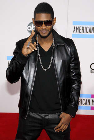 usher: Usher at the 2010 American Music Awards held at the Nokia Theatre L.A. Live in Los Angeles on November 21, 2010. Credit: Lumeimages.com Editorial