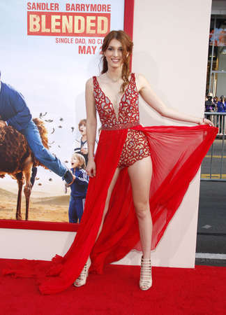 dani: Dani Thorne at the Los Angeles premiere of Blended held at the TCL Chinese Theatre in Los Angeles on May 21, 2014 in Los Angeles, California. Editorial