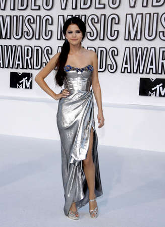 gomez: Selena Gomez at the 2010 MTV Video Music Awards held at the Nokia Theatre L.A. Live in Los Angeles on September 12, 2010.