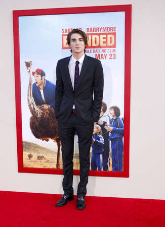 zak: Zak Henri at the Los Angeles premiere of Blended held at the TCL Chinese Theatre in Los Angeles on May 21, 2014 in Los Angeles, California.
