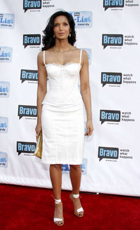 padma: Padma Lakshmi at the 2009 Bravos A-List Awards held at the Orpheum Theatre in Los Angeles on April 5, 2009. Credit: Lumeimages.com