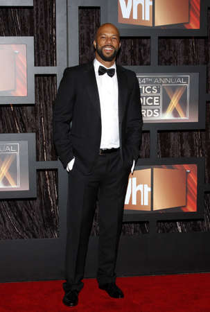 critics: Common at the 14th Annual Critics Choice Awards held at the Santa Monica Civic Center in Santa Monica on January 8, 2009. Credit: Lumeimages.com