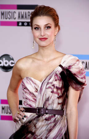american music: Whitney Port at the 2010 American Music Awards held at the Nokia Theatre L.A. Live in Los Angeles on November 21, 2010. Editorial