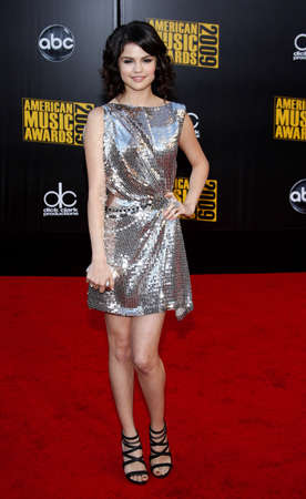 gomez: Selena Gomez at the 2009 American Music Awards held at the Nokia Theater in Los Angeles on November 22, 2009. Credit: Lumeimages.com