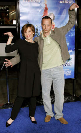 Dorothy Hamill and Brian Boitano attend the Los Angeles Premiere of Blades of Glory held at the Manns Chinese Theater in Hollywood, California on March 28, 2007. Copyright 2007 by Popular Images Editorial