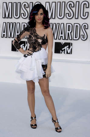 perry: Katy Perry at the 2010 MTV Video Music Awards held at the Nokia Theatre L.A. Live in Los Angeles on September 12, 2010.