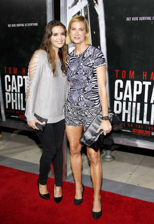 kelly: Kelly Lynch and Shane Lynch at the Los Angeles Premiere of Captain Phillips held at the AMPAS Theatre in Beverly Hills, USA on September 30, 2013. Editorial