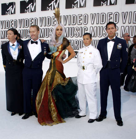 mtv: Lady Gaga at the 2010 MTV Video Music Awards held at the Nokia Theatre L.A. Live in Los Angeles on September 12, 2010.