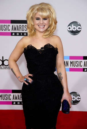 american music: Kelly Osbourne at the 2010 American Music Awards held at the Nokia Theatre L.A. Live in Los Angeles on November 21, 2010.