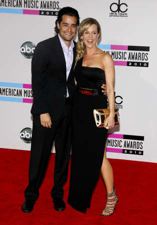 american music: Julie Benz at the 2010 American Music Awards held at the Nokia Theater L.A. Live in Los Angeles on November 21, 2010.